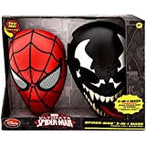 Ultimate Spider-Man Spider-Man 2-in-1 Mask Roleplay Toy [Spider-Man & Venom]