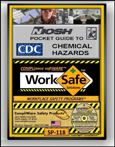 Sp-118 - Niosh Pocket Guide To Chemical Hazards - Osha - 29 Cfr 1910 36 38 157 165 - Upc - 639737375053