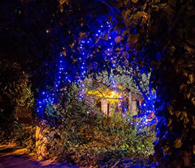 Solar LED String Lights, 100 Led Flower, 39.1ft, 9+ Hours Illumination, Waterproof, Outdoor Solar Fairy Lights, Christmas Lights, Ambiance Lights, Party Wedding Decorations