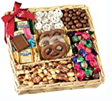 Broadway Basketeers Congradulations Chocolate & Nut Gift Tray