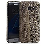 Samsung Galaxy S7 Edge Case Cover Shell Premium Case mat - Tracks