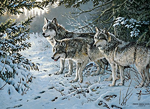 Cobble Hill Wolf Trail Jigsaw Puzzle, 1000-Piece