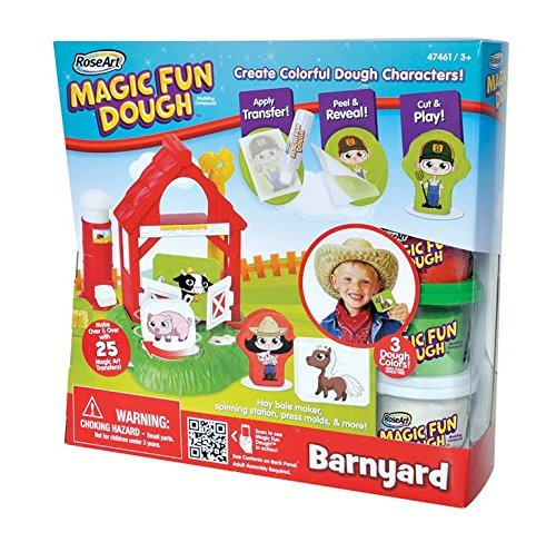 RoseArt Magic Fun Dough, Barnyard
