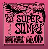 5 sets of Ernie Ball Regular Slinky electric Guitar strings