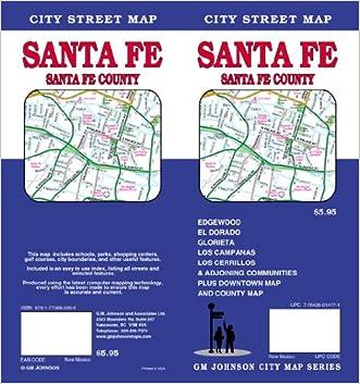 Santa Fe, SantaFe County City Street Map