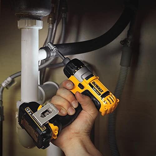 DEWALT DCF610S2 12-Volt Max 1/4-Inch Screwdriver Kit via Amazon