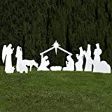 Outdoor Nativity Store Silhouette Outdoor Nativity Set - Full Yard Scene