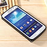 Go Crazzy Ultra Thin Metal Bumper Case For Samsung Galaxy Grand 2 G7106 (Black)
