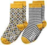 PACT Baby-Boys Newborn Kites Two-Pack Socks, Kites Two-Pack, 4T Months