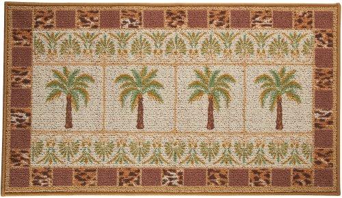 Bacova Oasis Grid Palm Tree Berber Rug No Size Coconuas198