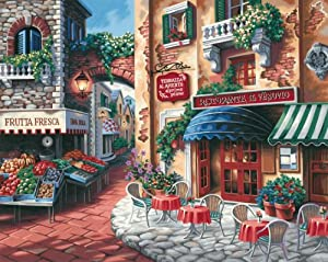 Dimensions Needlecrafts Paintworks Paint By Number, Taste Of Italy