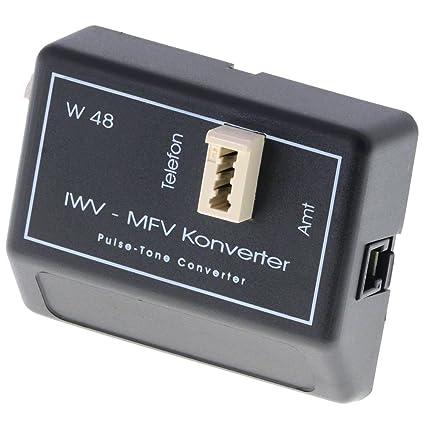Reiner IWF/MFV Konverter avec Chargeur - an ISDN / RNIS-Anlagen á betreiben, que eine höhere Spannung erfordern.an Routern (Speed Port, Fritzbox, etc) anzuschließenan Anschlussen de Kabelnetzen (