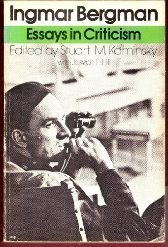 Ingmar Bergman: Essays in Criticism (Galaxy Books)