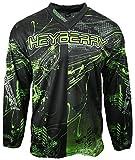 Heyberry Motocross MX Shirt Jersey Trikot schwarz grün Größe L