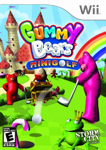 Gummy Bears Mini Golf - Nintendo Wii - 1