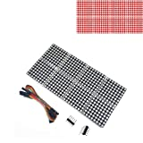 Onyehn 1PCS MAX7219 Dot Matrix Module 8 dot Matrix 42 Display for Arduino Microcontroller with 5Pin Line