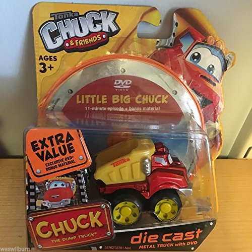 Tonka Chuck and Friends die cast Chuck the Dump Truck with DVD - 1