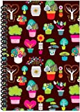 Rock Paper Spiral Notebook, Tree Pots (RP402)