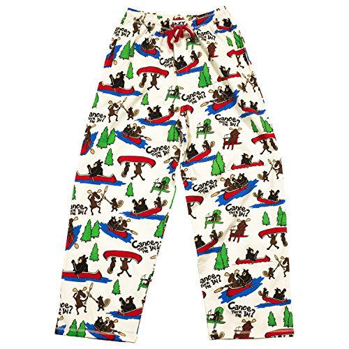 Canoe Tuck Me In?-Hold up, Moose, Beaver PJ Pant by LazyOne