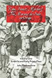 img - for Rape, Incest, Murder! the Marquis de Sade on Stage Volume One: Juvenilia and Early Prison Plays book / textbook / text book