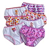 Nickelodeon Lalaloopsy Toddler Girls 7-pack Brief Panties (Size 2t)