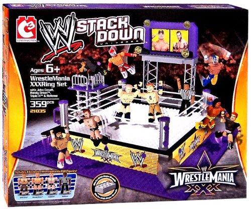 c3-wwe-wrestling-stack-down-set-21035-wrestlemania-xxx-ring