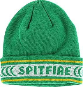 Spitfire Classic Cuff Kelly Green / Yellow Beanie