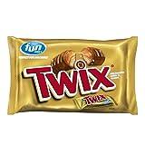 TWIX Fun Size Caramel and Chocolate Cookie Bar Halloween Candy, 10.83 Ounce (Tamaño: 1 Pack)
