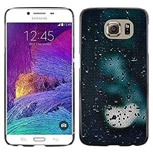 Omega Covers - Snap on Hard Back Case Cover Shell FOR Samsung Galaxy S6 - Light Sad Dark Reflection