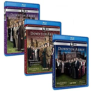 Downton Abbey: The Complete Seasons 1, 2 & 3 [Blu-ray] by PBS