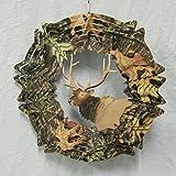 Iron Stop Mossy Oak Elk Wind Spinner