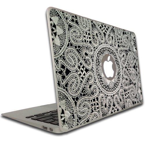 Macbook Air or Macbook Pro (13 inch) Vinyl, Removable Skin - Lace (Macbook Air Removable Skin compare prices)
