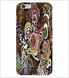 PrintDhaba Pattern D-2623 Back Case Cover for APPLE IPHONE 6 (Multi-Coloured)
