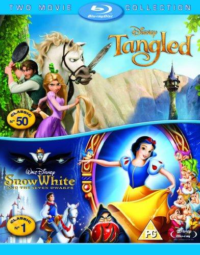 Tangled/Snow White [Blu-ray]