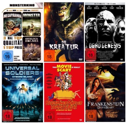 HORROR COMPULSITION 2 (6 DVDs 8 Filme)