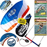 HQ Hydra II 420 V2 Kiteboarding Water Trainer Kite x2 DVD Bundle : Including Progression... by HQ Power Kites, Fat Sand Video Productions, IKO, WindBone