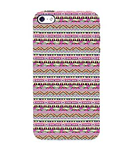 Ifasho Triangular Pattern Back Case Cover For Apple Iphone 4
