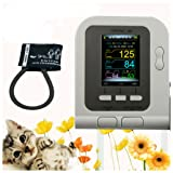 Vet Veterinary OLED digital Blood Pressure & Heart Beat Monitor (Color: As Pictured, Tamaño: as pictured)