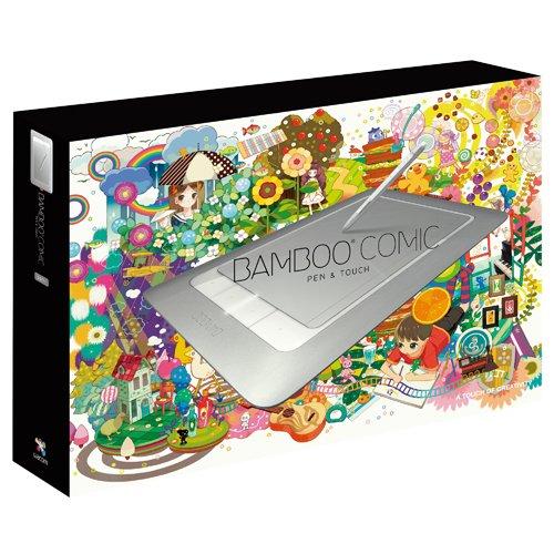 【Amazonの商品情報へ】Wacom ペンタブレット Mサイズ デジ絵作成入門機 コミスタMini付属 Bambooコミック CTH-661/S1