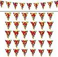 "Wimpel-Girlande ""Happy Birthday Bunte Ballons"" 10 m"