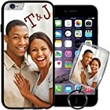 Apple iPhone 6 (4.7 inch) PixCase® - Picture Frame Case - DIY personalized - Insert photos, change anytime or create custom inserts at PersonalizeItYourself - Shock absorbing TPU edges, clear scratch resistant picture window ++ Bonus Photo Keychain ++
