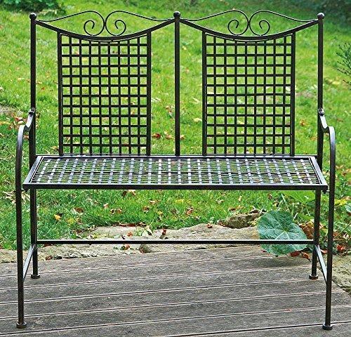 Dos plazas Claremont banco muebles de jardín
