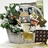 Art of Appreciation Gift Baskets Best Wishes Wedding Gourmet Food Gift Basket, Large