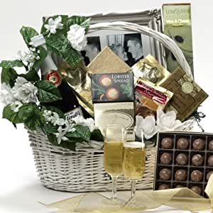 Wedding Gift Basket Delivery : To You Wedding Gourmet Food Gift Basket, LARGE (Scheduled Delivery ...