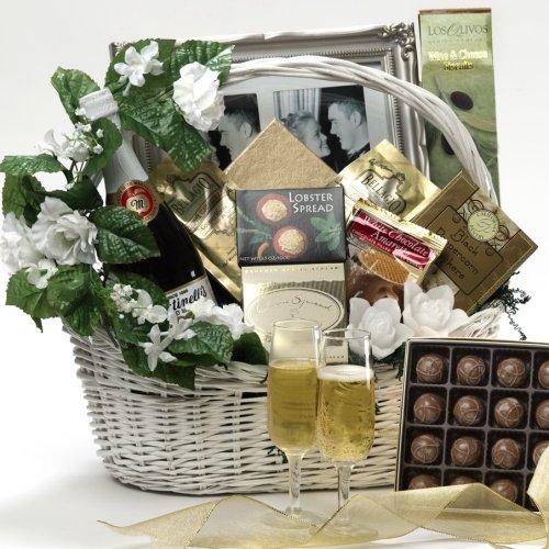 Wedding Wishes Gourmet Food Gift Basket - Large