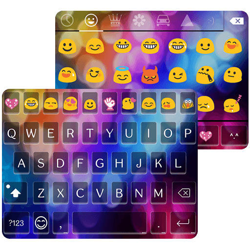 Multi Color Love Emoji Keyboard (Keyboard Apps compare prices)