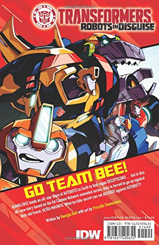 Transformers Robots in Disguise Animated by IDW Publishing