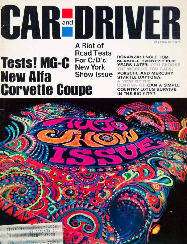 1968 Cover Car Driver Lotus Europa Hipmobile Abe Gurvin Auto Show Gt Coupe Sport - Original Cover front-1022266