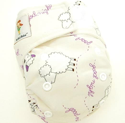 Amazon.com : Kawaii Baby Newborn Reusable Cloth Diaper Pure & Natural 6 - 22 Lb. With 2 Microfiber Inserts