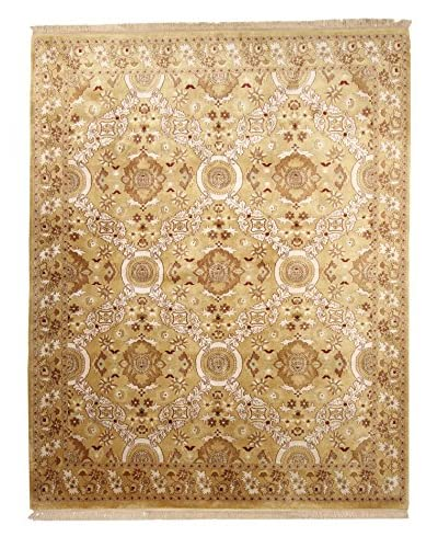 F.J. Kashanian Rugs One-of-a-Kind Gianni Rug, Gold/Gold, 8′ x 10′